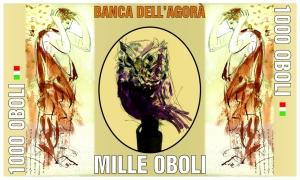 Banconota Arturo Barbante Soldi d'artista