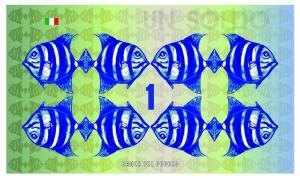 banconota Giuseppe Cassibba Soldi d'artista
