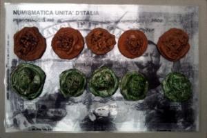 Giuseppe Denti Monete Commemorative Soldi d'artista