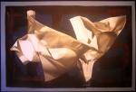 Le cose non dette di Rodolfo Guzzoni per Spazio Tadini mostra Fogli di Carta
