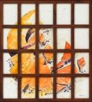 Spazio Tadini-SpazioinStabile- Soldi D'artista Barbante,,Crollo,,2011,acquerello
