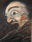 Spazio Tadini- SpazioinStabile- Soldi D'artista - Costache,Il grido,2012,olio su tela,