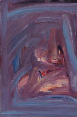 Spazio Tadini-SpazioinStabile- Soldi D'artista-Difranco,,Senza titolo 2011 olio