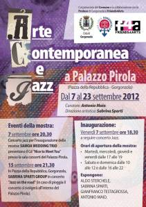 Segnala - Arte contemporanea e jaz con la partecipazione di Gianfranco Testagrossa
