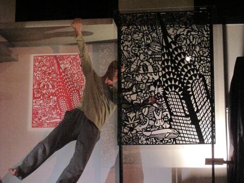 Coreografia d'Arte I° edizione 2009, Roberto Lun su Claudio Onorato