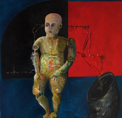 Opera di Francesca Magro della serie Oltre Uomo