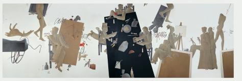 Emilio Tadini, L'occhio della Pittura, Coreografia d'Arte III° edizione, Festival di coreografia, arte, teatrodanza a Spazio Tadini