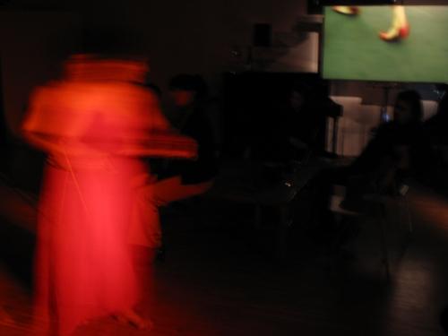 Coreografia d'Arte I° edizione 2009, Enliberté su Maria Mulas