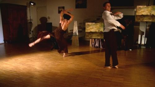 Coreografia d'Arte I° edizione 2009, Naked su Giovanni Cerri