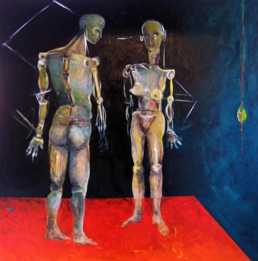 opera di Francesca Magro, della serie Oltre Uomo