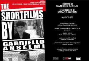 I corti di Gabriello Anselmi a Spazio Tadini