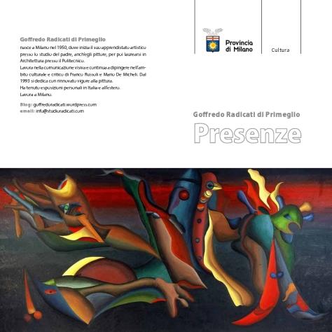 invito mostra Goffredo Radicati-Spazio Oberdan