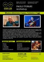 Locandina Paolo Tofani Workshop a Spazio Tadini