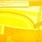 Rosanna Forino 2003 - Monocolore Giallo - 100x100
