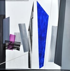 Rosanna Forino 2005 - Blu Oltremare 2 - 100x100