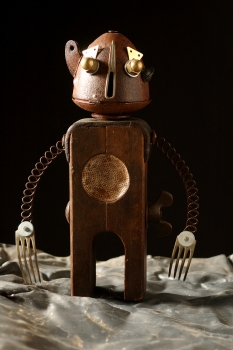 Andrea Locci, Io Robot a Spazio Tadini