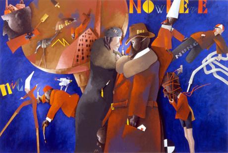 Spazio Tadini Archivio Emilio Tadini Emilio Tadini, Oltremare, 1992, acrilici su tela, 200 x 300 cm