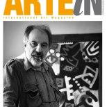 Paolo Valle sulla copertina di Arte In