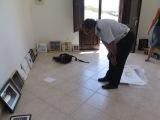 L'arrivo delle opere a Lionosa presso la sala capitaneria