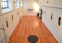 Sala ex studio Emilio Tadini - mostra Ernesto Terlizzi