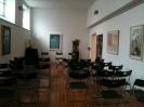 Sala Ex strudio Emilio Tadini - conferenza mostra Ritorno al Mediterraneo