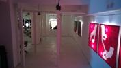 Sala delle colonne Spazio Tadini - mostra André Che Isse