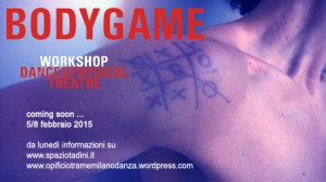 Danza, BodyGame, Workshop