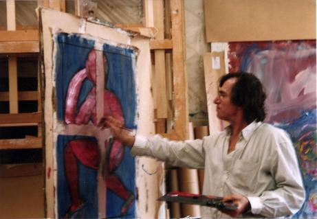 Jean Pierre Landau: L'ascolto all'opera a Spazio Tadini dopo la mostra all'Istituto Francese