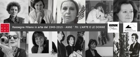 mostra Milano in arte dal 1945 al 2015 Anni 70 le donne  e l'arte4