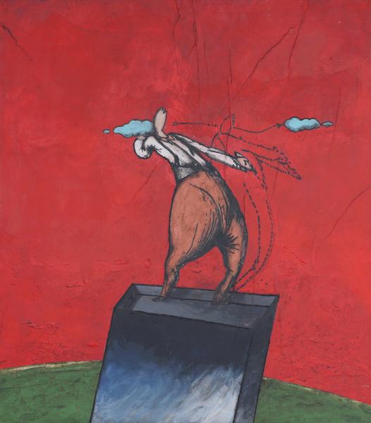 Il lanciatore di Nuvole mostra di Fulvio Tornese a Spazio Tadini dal 11 marzo al 3 aprile 2015