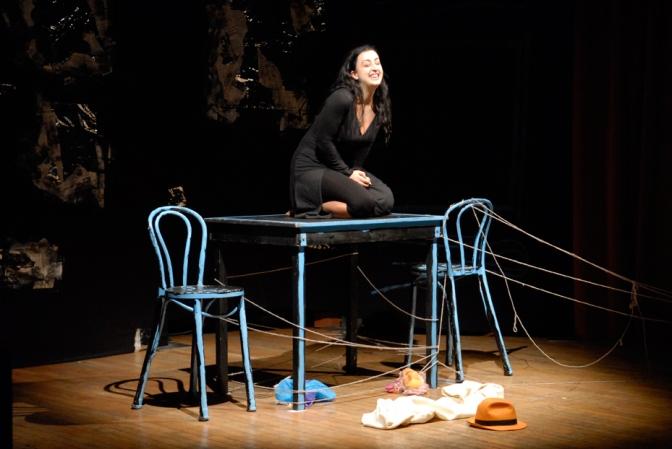 Teatro: Creaturamia… di e con Marianna Esposito, compagnia TeatRing 20 e 21 febbraio 2015