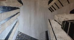 Progetto Porta Nuova - Milano - 81x150 - 2011 - tela_web