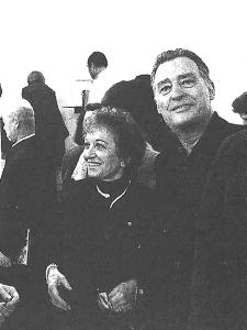 Zita Vismara con Emilio Tadini