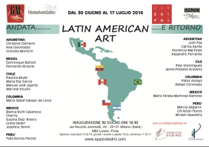 america latina cartolina nuova