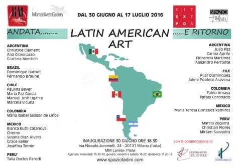 cartolina america latina corretta 27-6