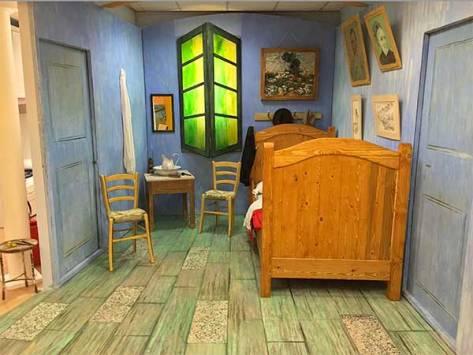 max camerette la camera da letto di van gogh
