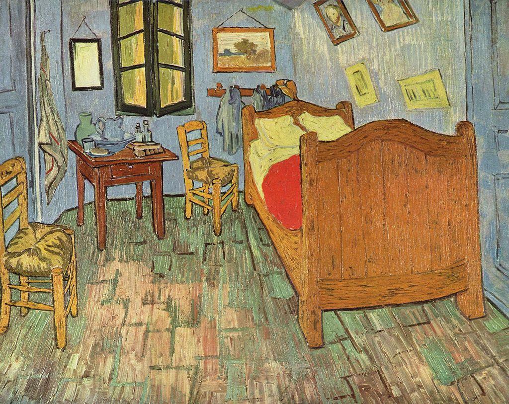 Camera da letto di Arles di Vincent_Willem_van_Gogh_a Spazio Tadini ...
