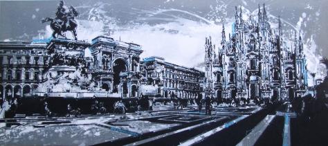 Piazza Duomo Milano, Andrea Gnocchi