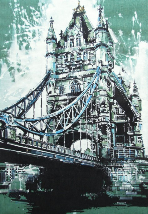 TOWER BRIDGES LONDON - BN (100x70)-Andrea Gnocchi