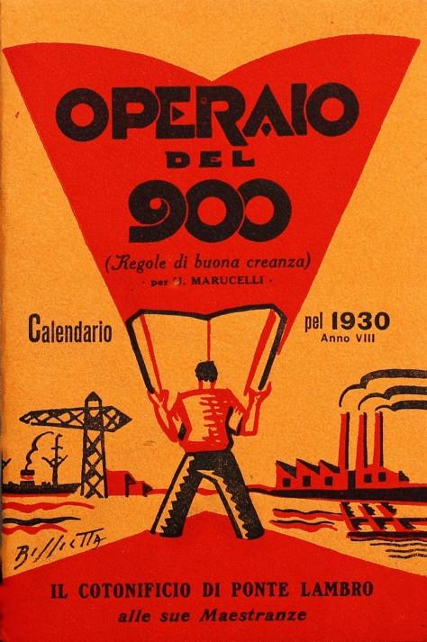 copertina operaio del novecentorid