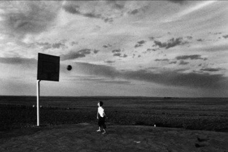 Basketball, Gobi desert, Mongolia