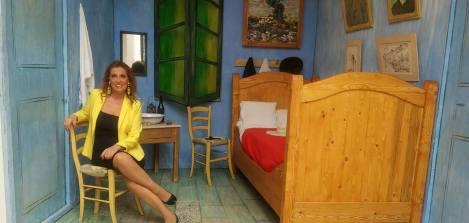 Candida Livatino a Spazio Tadini nella Stanza di Van Gogh
