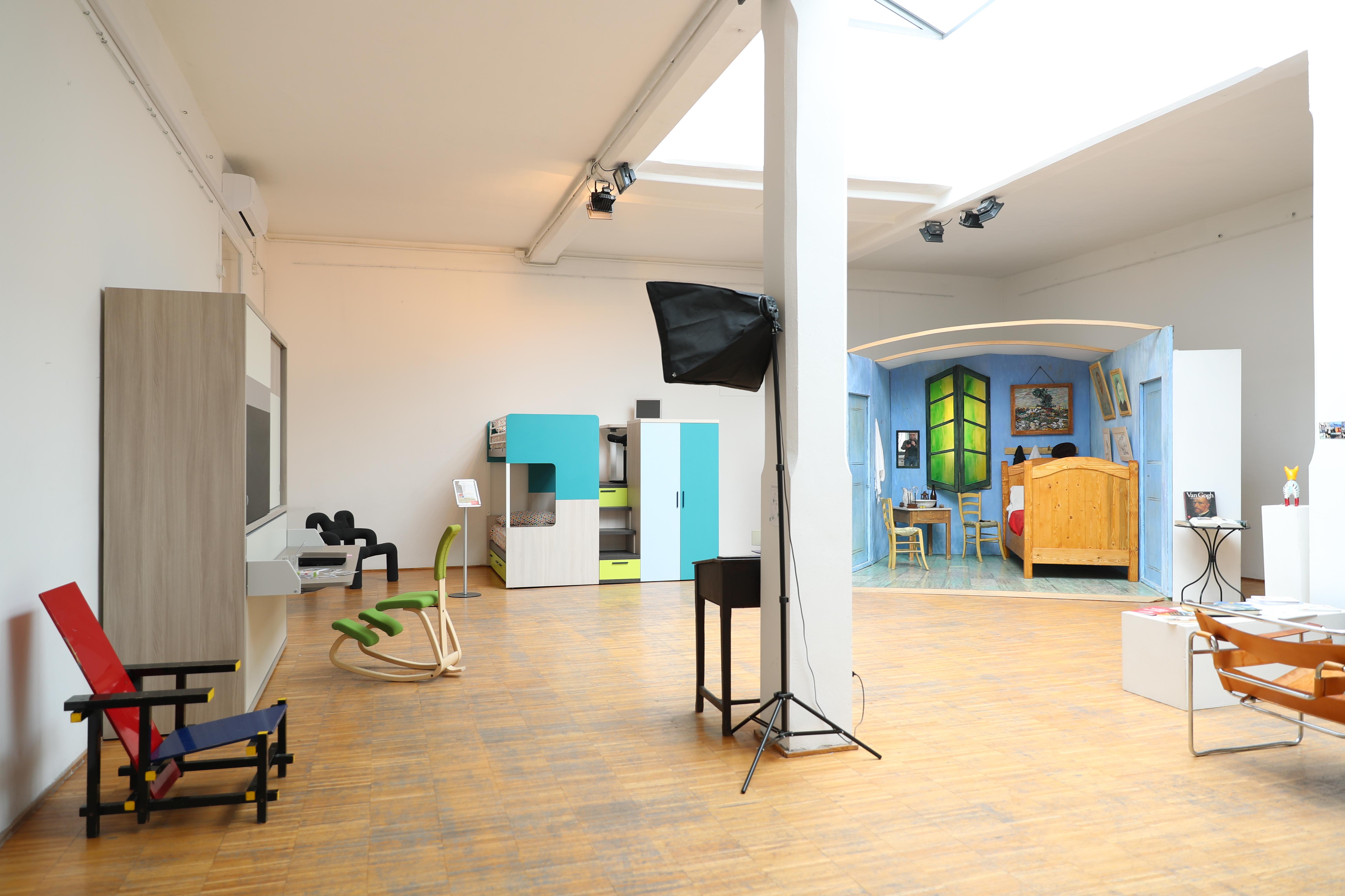 la camera da letto di van gogh nella casa museo   SPAZIO TADINI