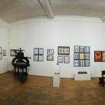Il salone dove una volta c'erano le macchine tipografiche