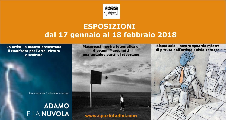 Mostre Milano dal 17 gennaio al 18 febbraio 2018 – Casa Museo Spazio Tadini