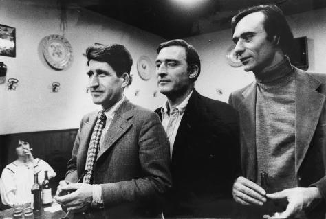 Emilio Tadini 001 ph.MariaMulas, Valerio Adami Jean Louis Schefer, 1972