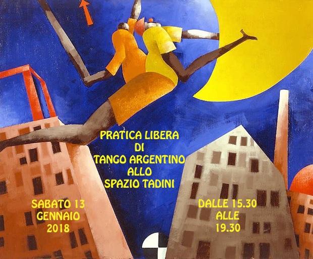 Corsi di tango argentino 2018 a Spazio Tadini
