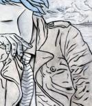 Fulvio Tornese Nei tuoi pensieri_cm140x120 acrilico su tela