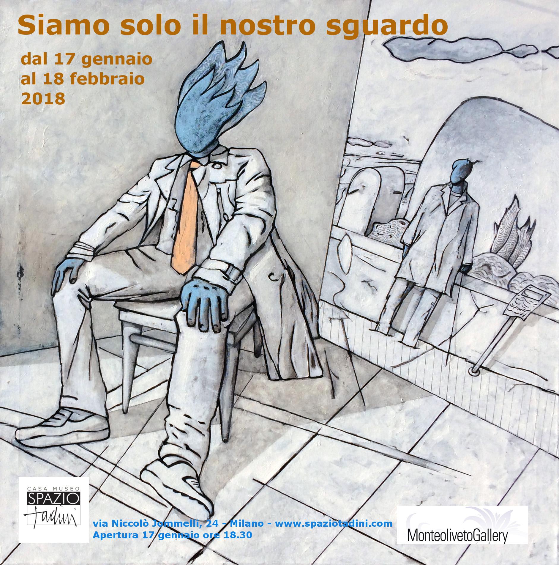 Fulvio Tornese in mostra a Milano: Siamo solo il nostro sguardo