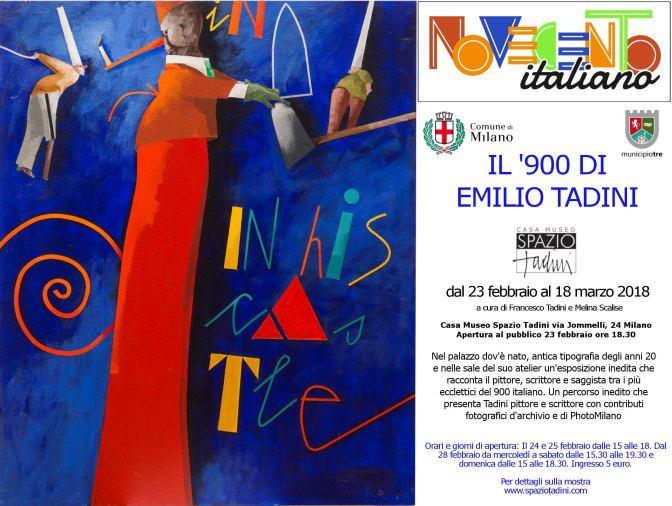 Novecento Italiano: Il '900 di Emilio Tadini nella Casa Museo Spazio Tadini